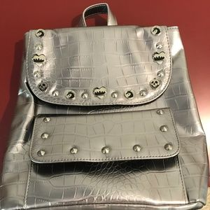 Brand New Disney Store Silver Backpack